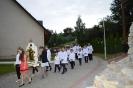 Budowa i poświęcenie Groty NMP z Lourdes w Białce (3)
