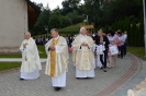 Budowa i poświęcenie Groty NMP z Lourdes w Białce (4)